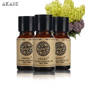 Aceite Esencial de manzanilla AKARZ Osmanthus Honeysuckle, juegos de la mejor marca para Cuidado DE LA PIEL Spa de masaje de aromaterapia 10ml * 3