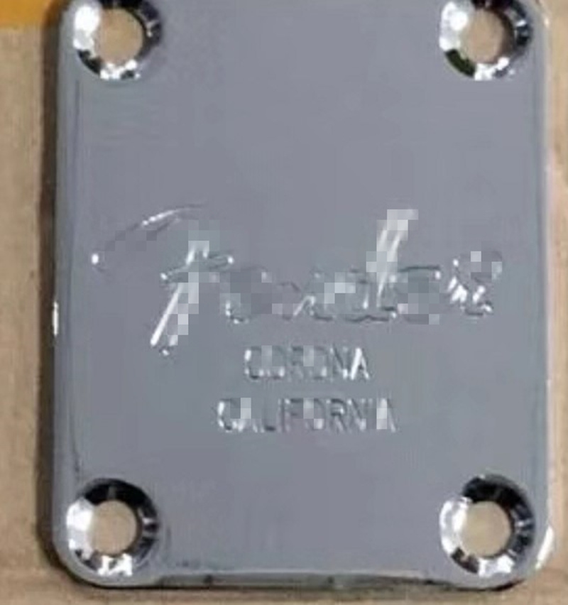 1 Set Electric Guitar Neck Plate Neck Plate Fix Tele Guitar Neck Joint Board - Including Mounting Screws