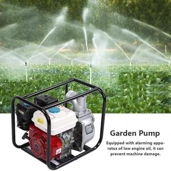 цена на 3inch Petrol Gasoline Water Transfer Pump Swimming Pool Cleaning Water Pump 6.5HP 7m Garden Agricultural Irrigation pump