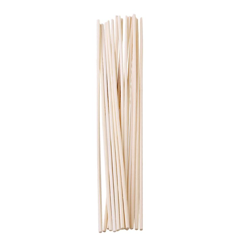 30pcs Rattan Reed Diffuser Replacement Natural Fragrance Straight Reed Diffuser Aroma Oil Diffuser Refill Sticks DIY Handmade
