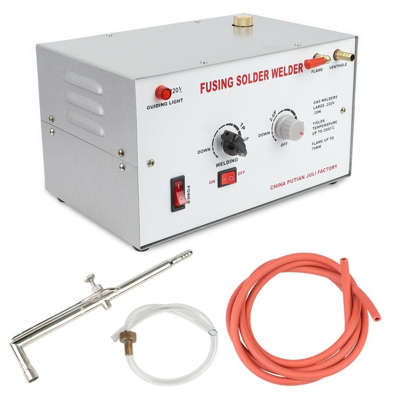 30W 220V Welding Machine Melting Gold Silver Welding / Soldering Maximum Temperature Up To 2000 / Low Fuel Consumption Goldsmi