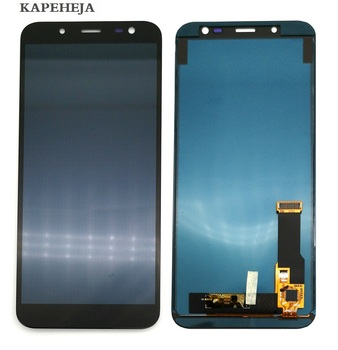 Can adjust brightness LCD For Samsung Galaxy A6 2018 A600 A600F LCD Display Touch Screen Digitizer Assembly