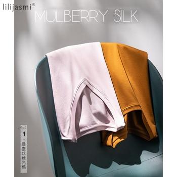 2020 High-end Fabric Women Silk & Mercerized Cotton T-shirt Luxury Tee Short Sleeve Silk Feeling Summer Wear Vacation V / O-neck 1