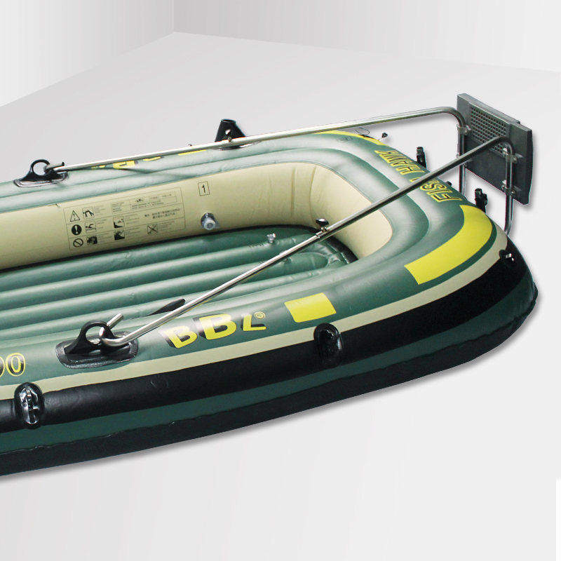 Kayak Inflatable Fishing Boat Motor Bracket Stainless Steel Hanging Plate Thickened Hardened Motor Bracket Buckle