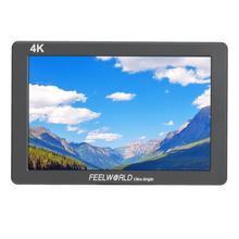 """7 """"4 K di monitoraggio Feelworld P7 Ultra HD Luminoso 2200nit Video Camera Monitor HDMI 1920x1200 monitor dslr"""