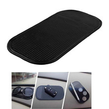 Car gadget13 x 7cm 1PC Auto CAR Anti Slip Dashboard Sticky PAD Non Mat Holder Stickers For GPS Cell Phones Styling