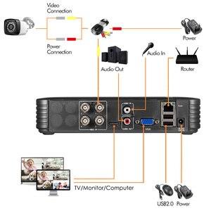 Image 3 - Fuers DVR מצלמה 4CH 8CH 1520P 4MP בית מצלמה אבטחת מערכת ערכת חיצוני IR עמיד למים וידאו מעקבים טלוויזיה במעגל סגור מערכת AHD HDMI