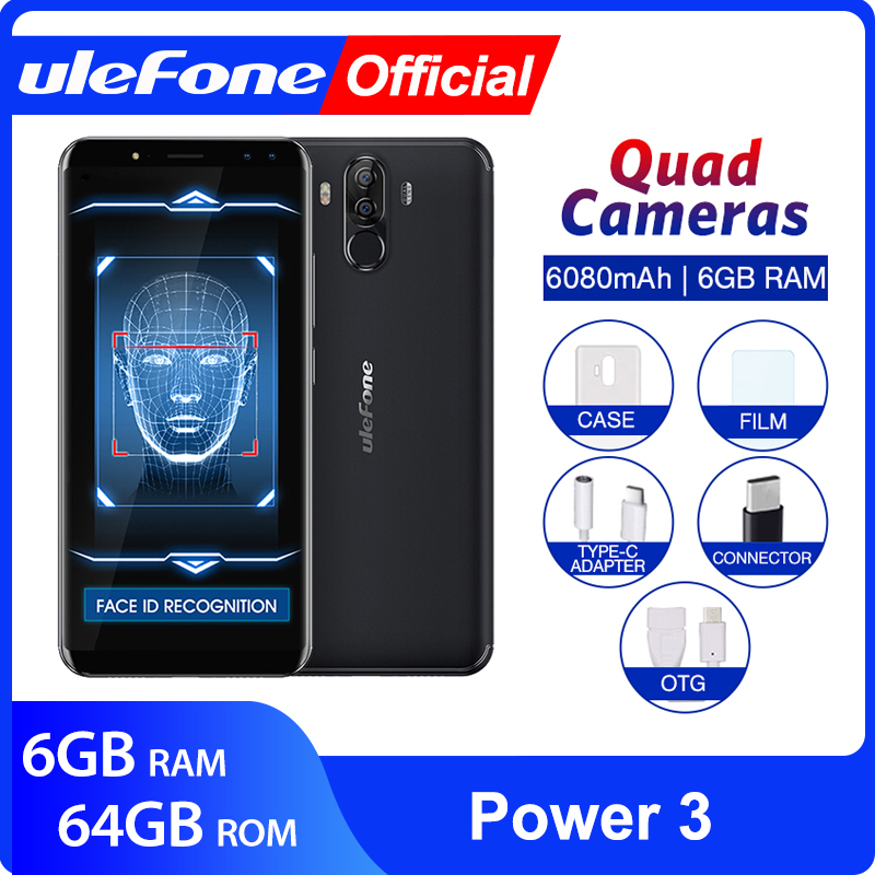 Ulefone Power 3 Android 7.1 Mobile Phone 6.0