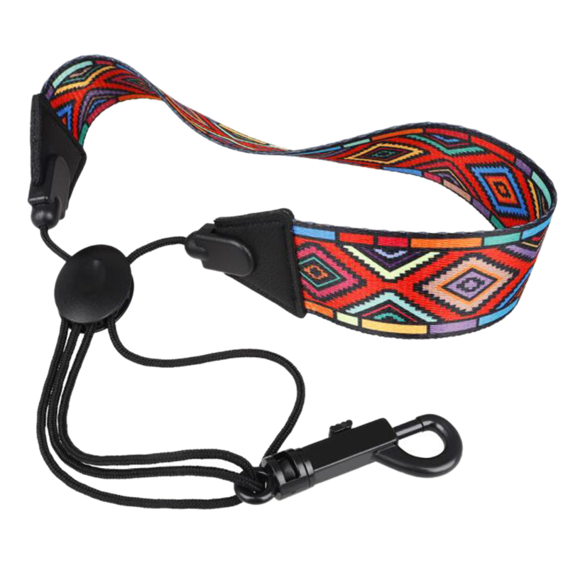 Saxophone Neck Strap With Snap Hook Sax Harness For Alto / Tenor / Soprano Sax