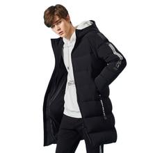 SEMIR russe hiver doudoune hommes marque vêtements longue chaud épais 80% gris canard vers le bas manteau mâle Witner vestes pour homme