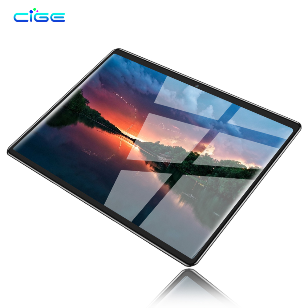 10.1 Inch Tablet Pc MTK8752 Octa Core Android 8.0 Tablets 6GB RAM 64GB ROM 1280x800 IPS Display Dual SIM 4G Phone Call Tablet