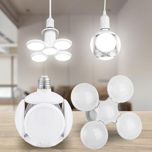 LED Lamp E27 Folding Bulb 60W