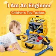 Игрушки для мальчиков игрушки набор инструментов детей инженер