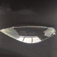 2 pces para peugeot 307 2003 2007 faróis do farol máscara de vidro máscaras máscara de lâmpada de escudo transparente 1 par|Cúpulas p/ abajur| |  -