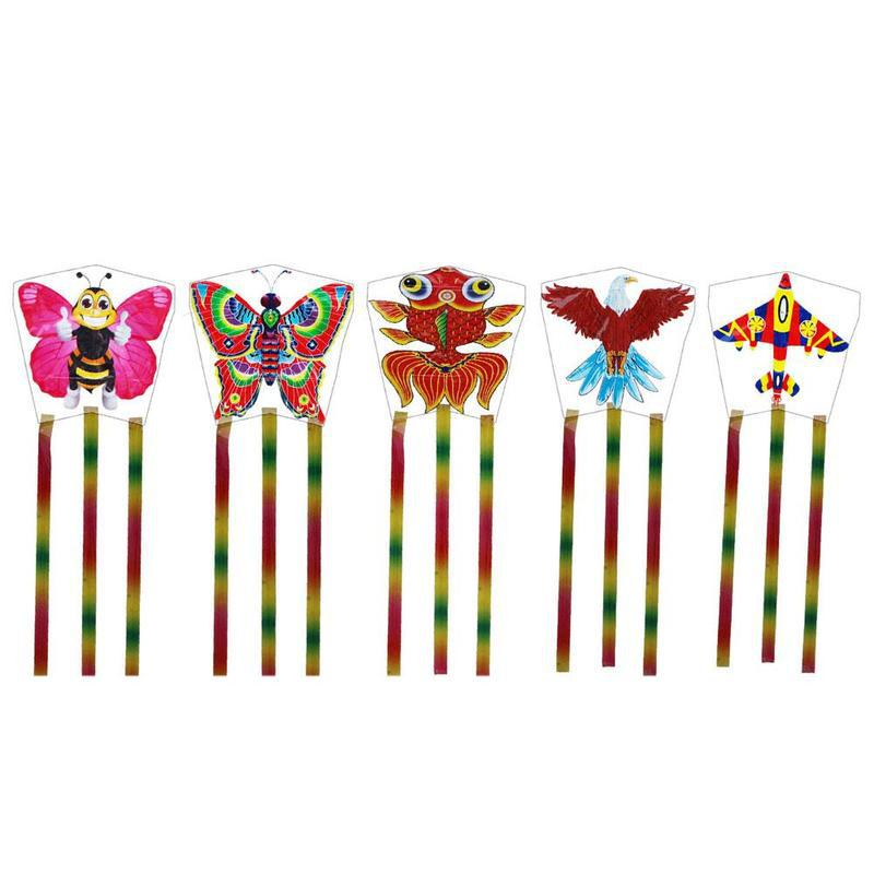 Outdoor Kites Butterfly Flying Kite Children Kids Fun Sports Toys ( Only Kite,without Line And Pole )