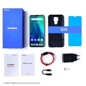 """Image 5 - Ulefone power 6 Smartphone Android 9.0 Helio P35 Octa core 6350mah 6.3"""" 4GB 64 GB 16MP face ID NFC 4G LTE Global Mobile Phones"""
