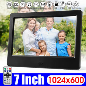 Photo-Frames Picture Electronic Album Digital 7inch-Screen Video Music HD Gift Movie