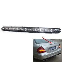 Luz de freno de coche, luz LED roja de freno de nivel de altura trasera para Mercedes Benz Clase E W211 2003 2006, estilo de coche Sep23