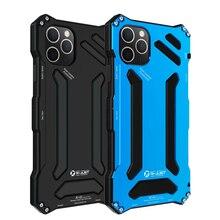 โลหะอลูมิเนียมซิลิโคนชั้นป้องกันกรณีแบบ Dual สำหรับ iPhone 11 Pro Heavy Duty สำหรับ iPhone 11 Pro MAX COVER