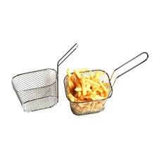 Stainless Steel Colander Kitchen Sieve French Fries Filter Potato Chips Fryer Basket Beekeeping Equipment Kitchen Tool стоимость