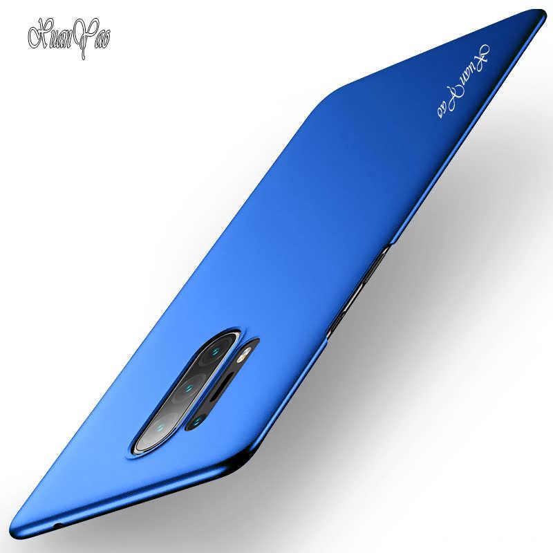 Bir artı 5 5T 6 6T 7 7T 8 Pro XUANYAO moda ince buzlu Coque için onePlus 8 7 7T 8 Pro kılıf kapak mat sert arka kapak