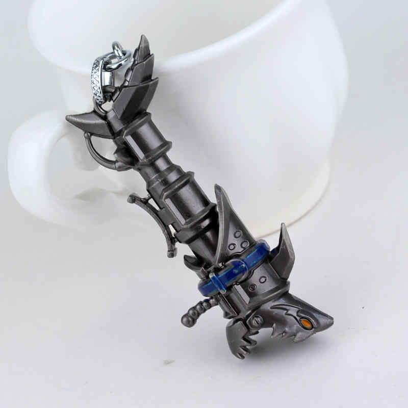Gra LOL brelok league of legends Jinx cannon brelok żelaza Solari Leona Teemo broń wisiorek breloczek metalowa klamra biżuteria