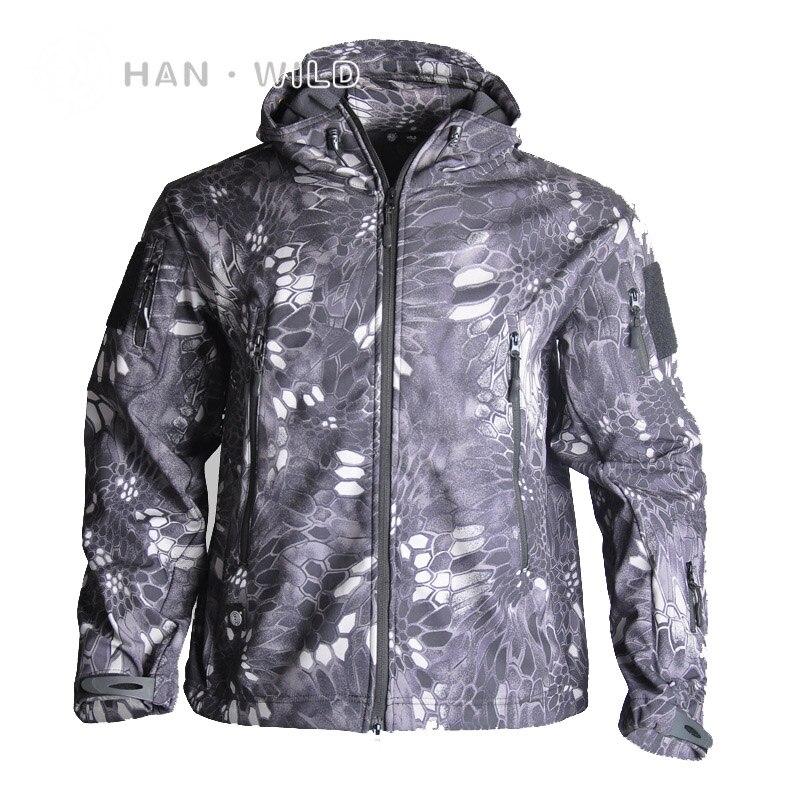 2020 охотничья одежда уличная Акула кожа tad v4 тактическая millitary Softshell куртка костюм Мужская водонепроницаемая Боевая куртка