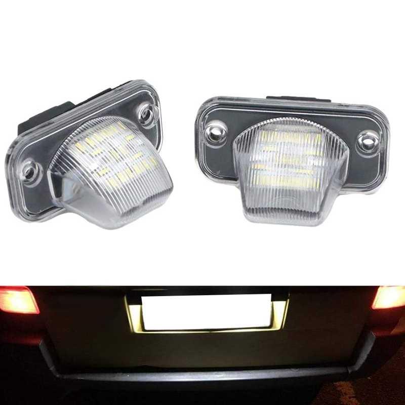 سيارة 18SMD لوحة ترخيص LED عدد ضوء ل-VW الناقل T4/كارافيل MK4/مولتيفان باسات B5 B6 كومبي يوروفا
