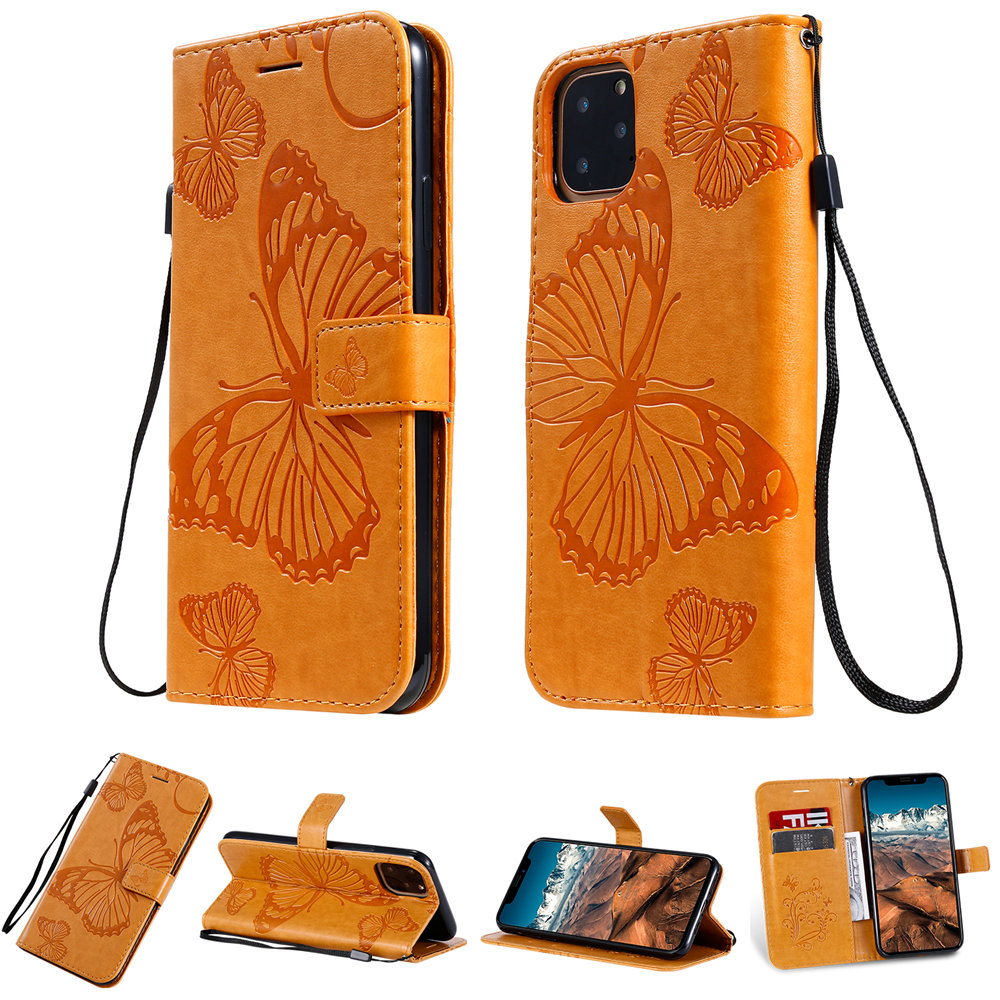 Butterfly Leather Wallet Case for iPhone 11/11 Pro/11 Pro Max 6