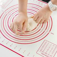 Silicone Baking Mat Pizza Dough Maker Pastry Kitchen Gadgets Cooking Tools Utensils Bakeware Kneading Accessories