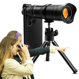 Image 1 - 18 30X hdプロ携帯電話カメラ望遠鏡レンズiphone xiaomi調節可能な望遠ズームレンズスマートフォンlentesキット