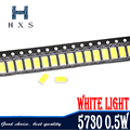 100 шт. 5730 Вт-0,5 мА 50-55 лм 5600K-6400K светильник SMD 5730 светодиод 5730 Диоды (3,2 ~ 3,4 в)