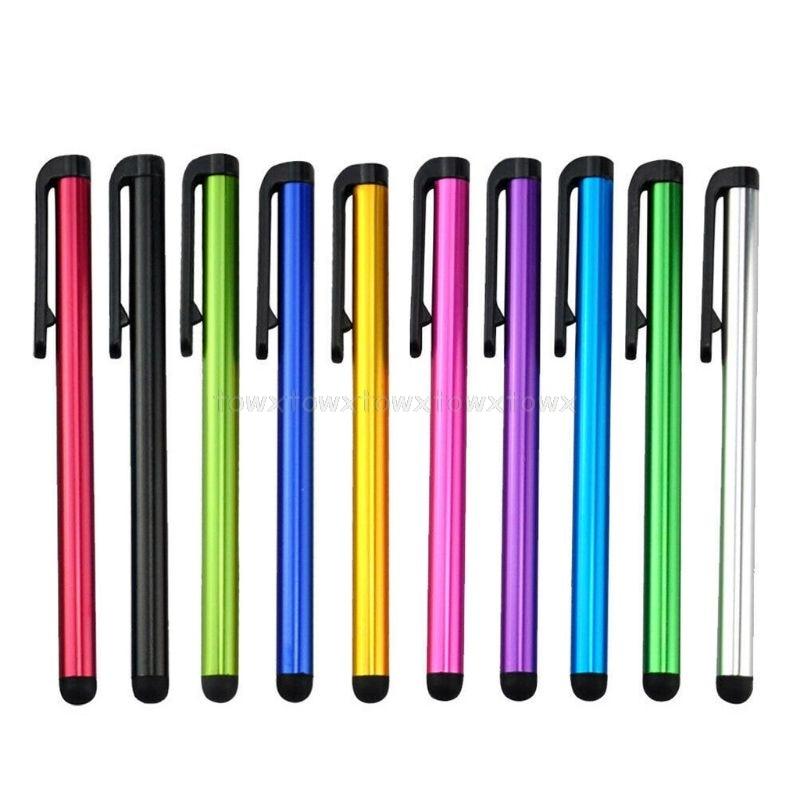 Универсальная Мягкая головка с зажимом для телефона, планшета, прочный стилус, ручка, емкостный карандаш, сенсорный экран, ручка J20 20, Прямая ...