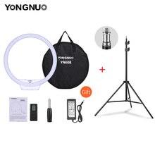 YONGNUO YN608 3200K ~ 5500K двухцветный кольцевой светильник светодиодный светильник для видеосъемки светильник для фотостудии светильник для камеры