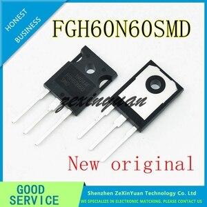 Image 1 - 2 قطعة 20 قطعة 100% جديد الأصلي FGH60N60 FGH60N60SMD TO 247 مشترك لحام أنبوب الطاقة 60A 600 فولت IGBT أنبوب