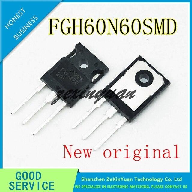 2 قطعة 20 قطعة 100% جديد الأصلي FGH60N60 FGH60N60SMD TO 247 مشترك لحام أنبوب الطاقة 60A 600 فولت IGBT أنبوب