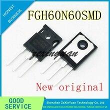 2 adet 20 adet 100% yeni orijinal FGH60N60 FGH60N60SMD TO 247 ortak kaynak güç tüpü 60A 600V IGBT tüp