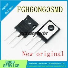2PCS 20PCS 100% חדש מקורי FGH60N60 FGH60N60SMD כדי 247 נפוץ ריתוך כוח צינור 60A 600V IGBT צינור