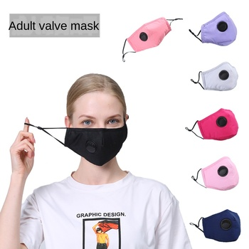 1 Pcs Washable Face Mouth Mask Anti Dust Mask PM2.5 Filter Windproof Mouth-muffle Bacteria Proof Flu Face Masks Care Reusable