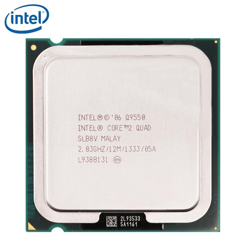 Intel Core 2 Quad Q9550 Processor 2.83GHz 12MB L2 Cache FSB 1333 Desktop LGA 775 CPU tested 100% working 1