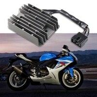 Regulador de tensão da motocicleta retificador para suzuki gsxr 600 750 1000 hayabusa gsx1300r intruder ignição acessórios|  -