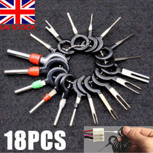 18Pcs Konektor Pin Extractor Terminal Removal Alat Mobil Kabel Listrik Crimp Kabel Konektor Pin Extractor Puller Alat(China)
