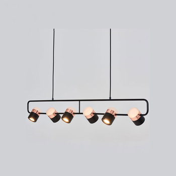 Modern Iron Pendant Lights Rotatable Living Room Dining Room Pendant Lamp Lighting Bar Bedroom Studyroom Loft Decor Hanging Lamp