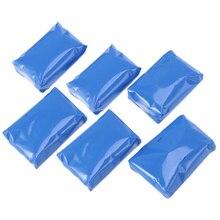 6 قطعة سيارة الطين بار 100g السيارات بالتفصيل الطين نظافة السيارة (الأزرق)