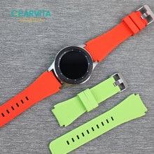 22mm silikon Watch Band için GT2 46mm Samsung Galaxy izle 46mm hualaya Garmin aktif akıllı İzle Watchband kayışı