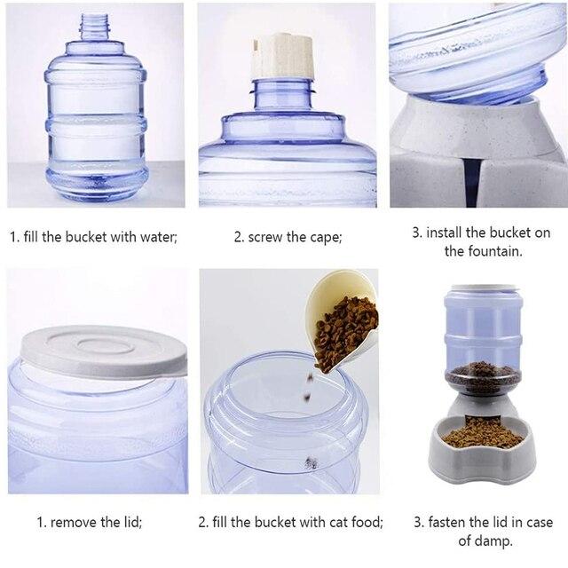 Automatic Pet Safe 2.3.8L Feeding & Drinking Storage Bowls  5