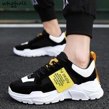 Sneakers Men Casual High Top Sport Shoes Autumn Platform White Calzado Hombre Gym Zapatillas Homme Trainers