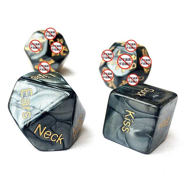 2 zestaw marmurowych kostek gry imprezowe egzotyczne akcesoria Bdsm Bondage pozycje miłosne erotyczne bzdury rury dorosłych zabawki erotyczne dla par