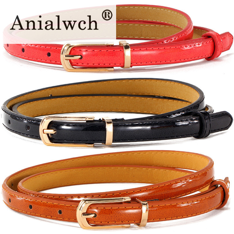 105*1.4cm Candy Colors Women's Belt For Women Belts With Dress 2020 Thin Waistband Female Girdle Waist Belt Cinture Femme A167