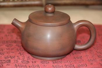 Qin Zhou Cera mi c Qinzhou Ni Xing Tao(No arcilla de Yixing tetera) MI tetera NI RI JIN TONG JIN por puer té oolong negro 110ml